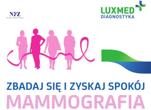 logo - bezpłatna mammografia